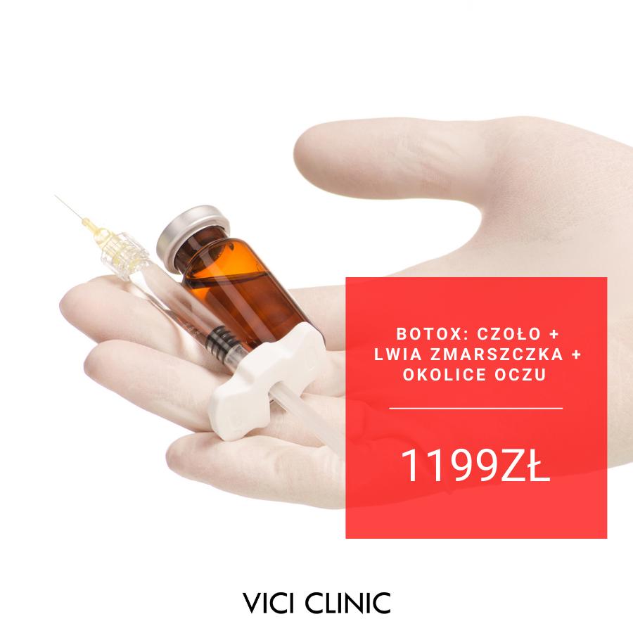 Botox na zmarszczki mimiczne